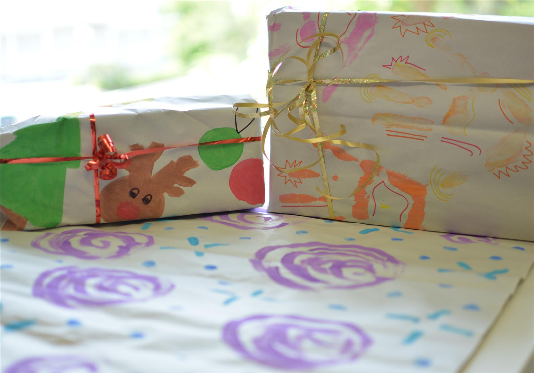 Diy Wrapping Paper Kinder Haven