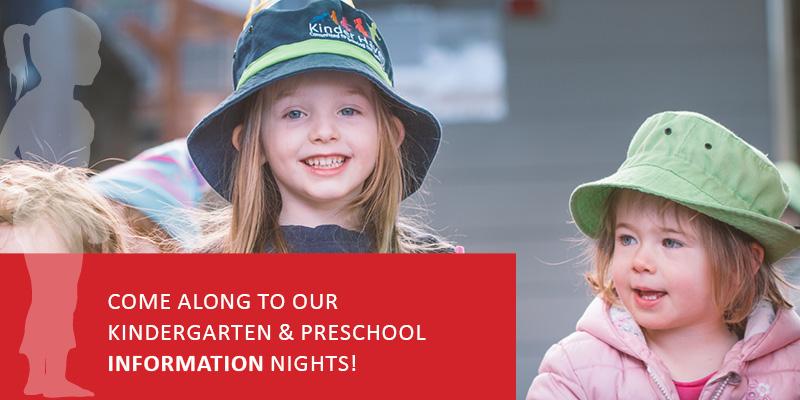Kindergarten & Preschool Information Nights